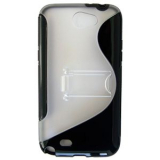 Samsung Galaxy Note II TPU Shield - Black