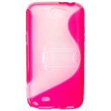 Samsung Galaxy Note II TPU Shield - Hot Pink