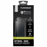 Samsung Galaxy Note 9 PureGear Steel 360 Screen Protector with Install Curved Tempered