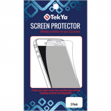 Apple iPhone 8/7/6s/6 TekYa Screen Protector - 3 Pack