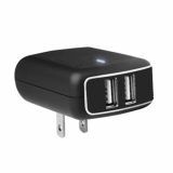 Universal Pure Gear 3.4 Amp Dual USB AC Travel Charger