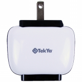 TekYa 2 Amp Dual USB AC Travel Charger Head - Small Packaging