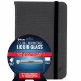 "Universal Tablet Bundle M-Edge 7-8"" Folio with TekYa Double Advantage Tablet Liquid Glass"