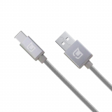 Caseco Rugged 78 Inch (6.5ft) USB-C to USB-A Braided Cable - Space Gray