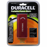Duracell 4400mAh Universal Rechargable Battery Pack - Red