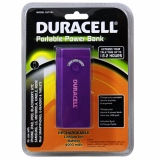Duracell 4400mAh Universal Rechargable Battery Pack - Purple