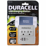 Duracell 2 Amp USB Charging Station
