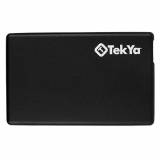 TekYa 2300mAh Power Pocket Portable Battery Pack - Black