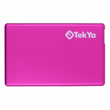 TekYa 2300mAh Power Pocket Portable Battery Pack - Pink