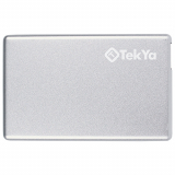 TekYa 2300mAh Power Pocket Portable Battery Pack - Silver