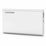 PureGear 5,000mAh Rechargeable Battery Pack - Silver