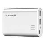 PureGear 10,400mAh Rechargeable Battery Pack - Silver