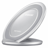**NEW**Samsung OEM Qi Wireless Fast Charging Pad Stand - Silver