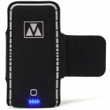 Universal M-Edge Power Strap with 3500mAh Battery Bank - Black