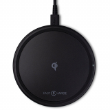 Rockstone Turbo 15W Fast Qi Wireless Charging Pad - Black
