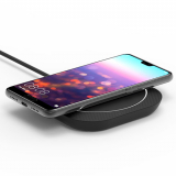 PureGear 10W Qi Wireless Fast Charging Pad - Black