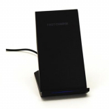 Universal M-Edge Power Stand Wireless 10W Charging Kickstand - Black