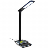 Universal M-Edge Luminous Wireless Charging Lamp - Black