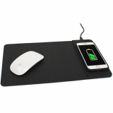 Universal M-Edge Wireless 10W Charging Mouse Pad - Black