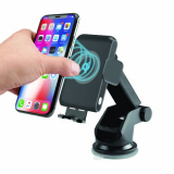 Universal TekYa AutoTek Wireless Qi Charging 3-n-1 Mount - Black