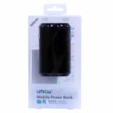 Universal 6600mAh Rechargable Battery Pack - Black