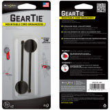 "Nite Ize Mountable Cord Organizer 3"" Gear Tie - 2 Pack"