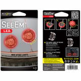 Nite Ize See'Em LED Bike Spoke Light - Red
