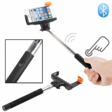 Monopod Selfie Stick With Wireless Bluetooth Remote - Black