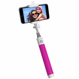 PureGear Selfie Stick with Bluetooth - Pink