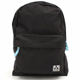 Universal M-Edge Graffiti Backpack with 4000mAh Portable Battery - Black