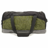 Universal M-Edge BOLT Duffel Bag with 6000mAh Portable Battery - Black/Lime