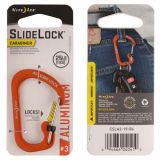 Nite Ize SlideLock Carabiner Aluminum #3 - Orange
