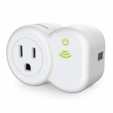 Universal PureGear PureSwitch Remote Plug White (Requires iPhone or iPad)
