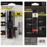 Nite Ize Radiant 3-in1 LED Mini Flashlight - Black