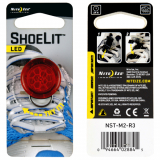**NEW**Nite Ize ShoeLit LED Shoe Light - Red