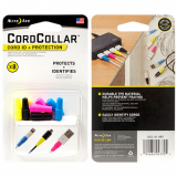 Universal Nite Ize CordCollar Cord ID + Protection - 8 Pack (Assorted Colors)