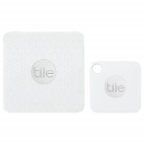 Universal Tile 2 Mate + 2 Slim Combo Bluetooth Item Finder/Tracker - White
