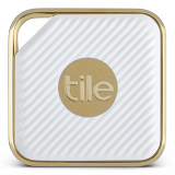 Universal Pro Series Tile Style Bluetooth Item Finder/Tracker - White