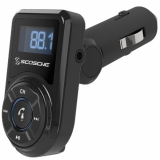 Scosche BTFREQ Bluetooth FM Transmitter with USB Port and 3.5mm Jack - Black