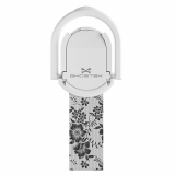 Universal Ghostek Loop Phone Grip/Stand - White Floral