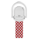 Universal Ghostek Loop Phone Grip/Stand - Red Checkered