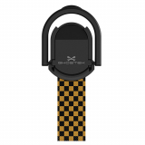 Universal Ghostek Loop Phone Grip/Stand - Yellow Checkered