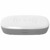 Mophie Universal Wireless UV Sanitizer and Qi Charger - White