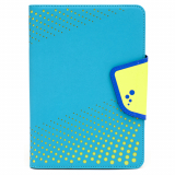 Universal M-Edge Sneak Folio 7in to 8in Tablet - Aqua with Lime