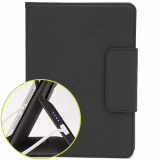 Universal M-Edge Stealth Power (4000mAh) Folio 7in to 8in Tablets - Black