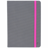 Universal M-Edge Folio Plus 9in to 10in Tablet - Grey/Pink