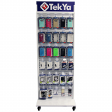 Universal TekYa Metal Floor Display - MOQ 60 Pieces