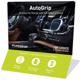 PureGear AutoGrip Wireless Car Charger Display
