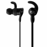 Ncredible Corded Handsfree Earbuds with 3.5mm Jack - Black