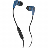 SkullCandy Ink'd 2.0 Handsfree Earbuds with In Line Mic and 3.5mm Jack - Blue/Black